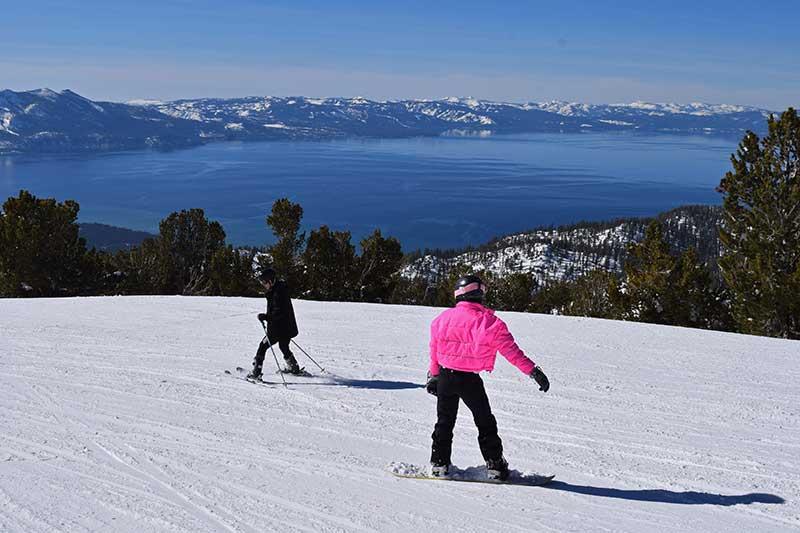 Guide to Heavenly Ski Resort - Ski Runs