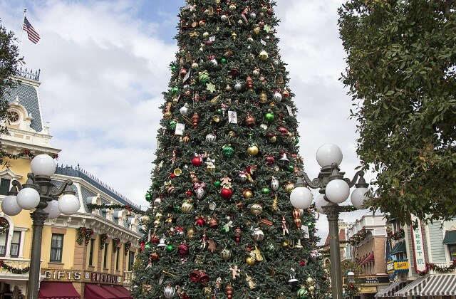 Holidays at Disneyland - Main Street Christmas Tree