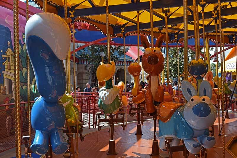 Jessie's Critter Carousel - Critters