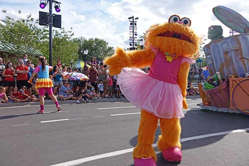 Sesame Street at SeaWorld Orlando - Parade