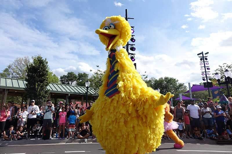 Sesame Street at SeaWorld Orlando - Big Bird