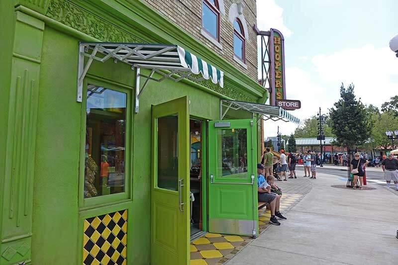 Sesame Street at SeaWorld Orlando - Hooper's Store