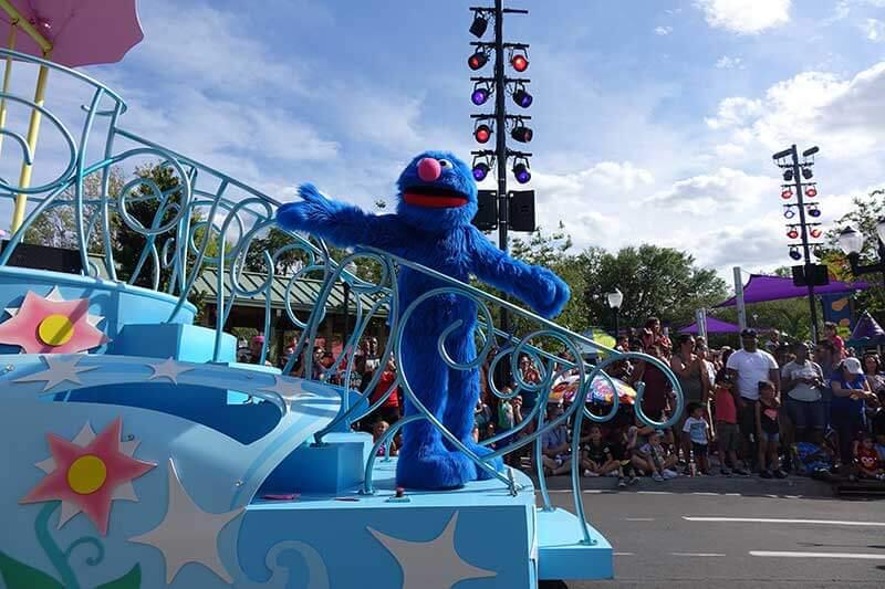 Sesame Street at SeaWorld Orlando - Grover