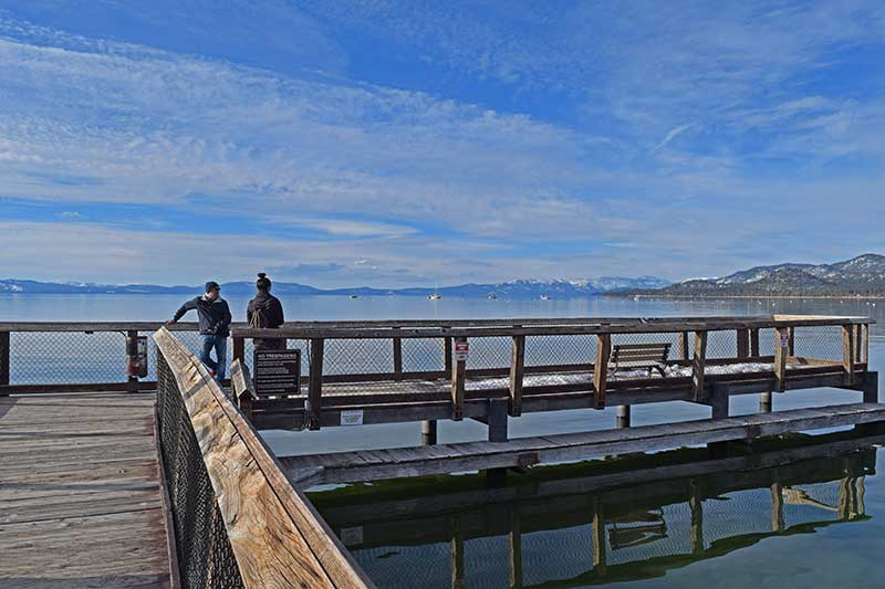 Winter Family Activities in South Lake Tahoe - Dock