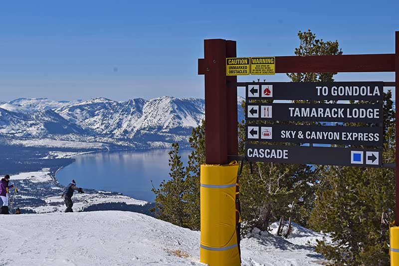Guide to South Lake Tahoe Ski Resorts - Heavenly