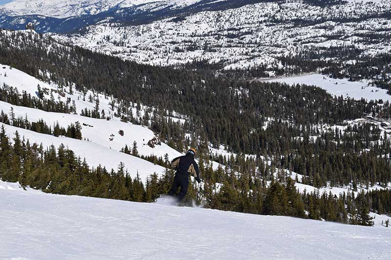 Guide to South Lake Tahoe Ski Resorts - Kirkwood Terrain