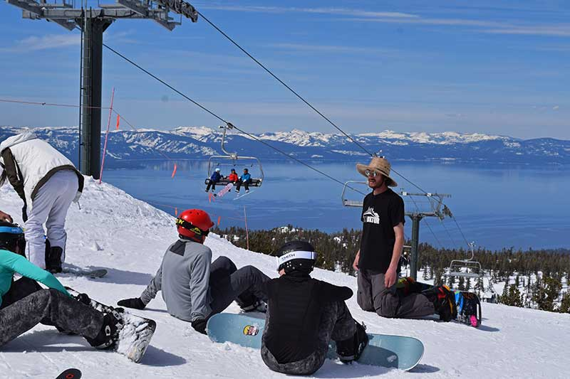 Guide to South Lake Tahoe Ski Resorts - View of Lake Tahoe