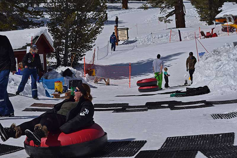 Winter Family Activities in South Lake Tahoe - Tubing