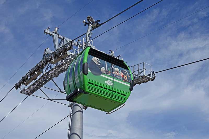 Disney Skyliner Transportation System - Zootopia Gondola