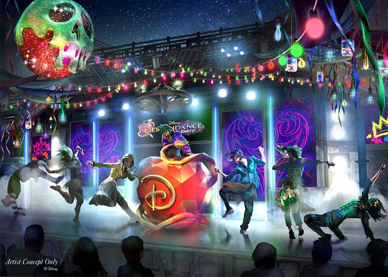 Disneyland Debuts an All-New Halloween Party for 2019 - DescenDANCE Party