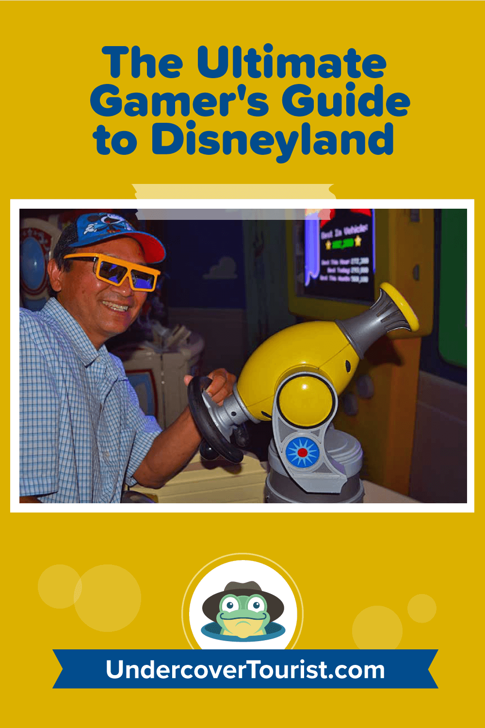 The Ultimate Gamer's Guide to Disneyland - Pinterest