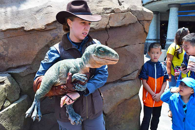 The Best Rides and Entertainment at Universal Studios Hollywood for Toddlers - Baby Dino