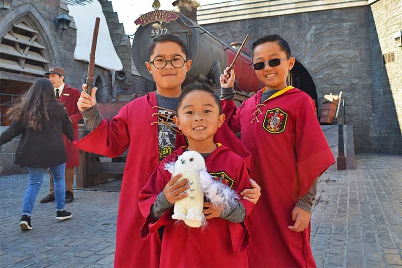 The Best Rides and Entertainment at Universal Studios Hollywood for Toddlers - Wizards