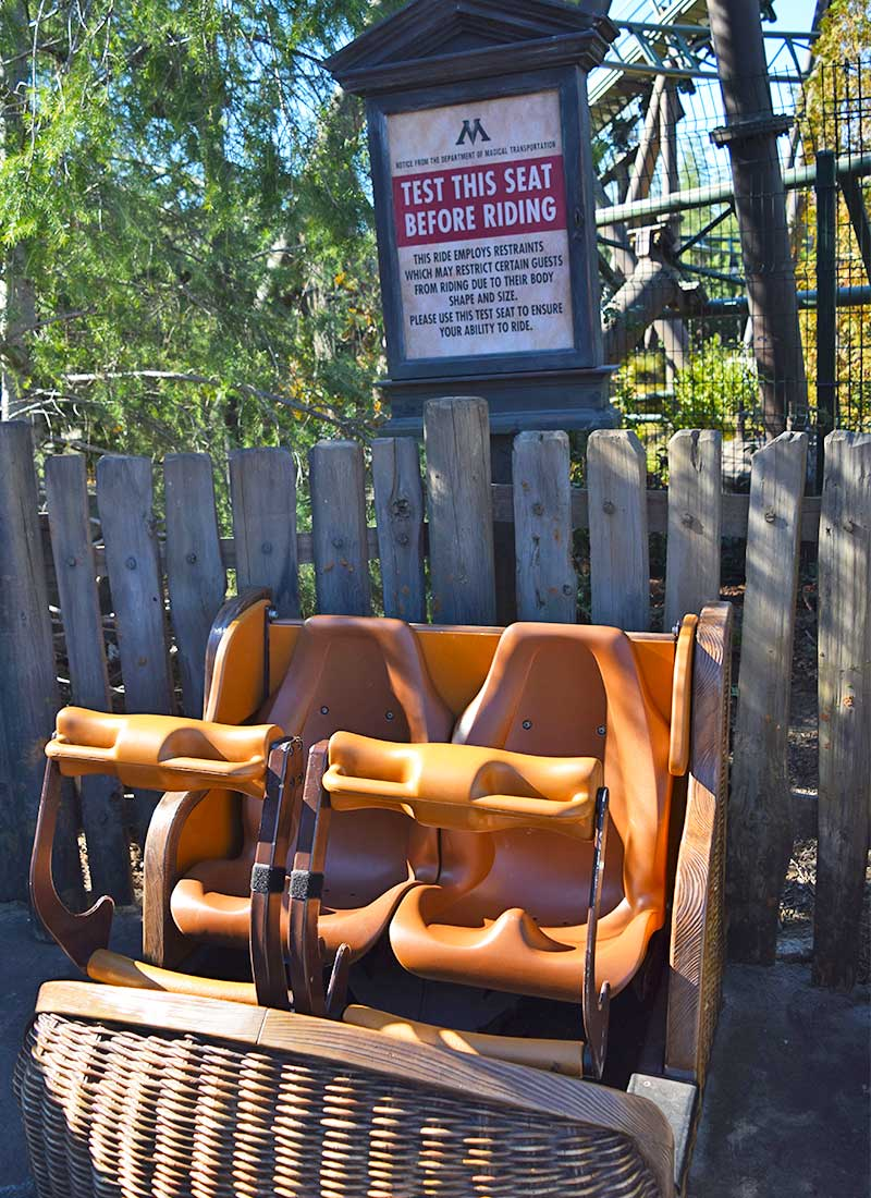Universal Studios Hollywood Height Requirements - Test Seat