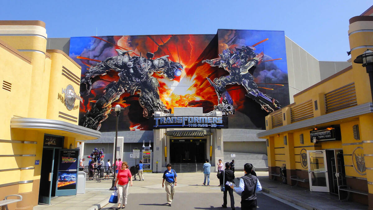 Universal Studios Tips to Maximize Your Time - Transformers