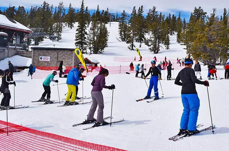Ways to Save on a Lake Tahoe Ski Trip - Beginner Lessons