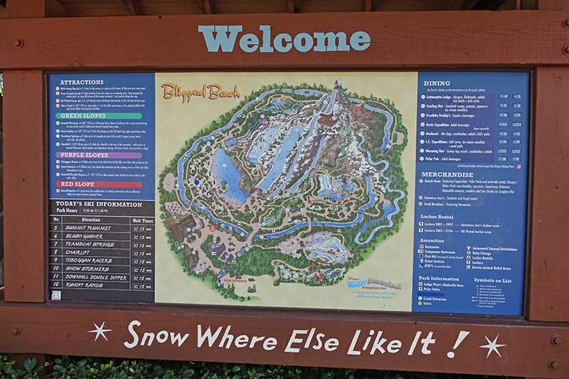 Blizzard Beach - Directory