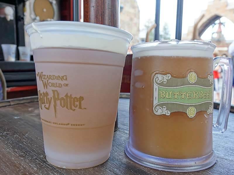 Butterbeer at Universal Orlando - Frozen Butterbeer