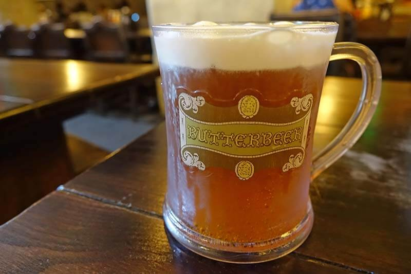 Butterbeer at Universal Orlando - Cold Butterbeer