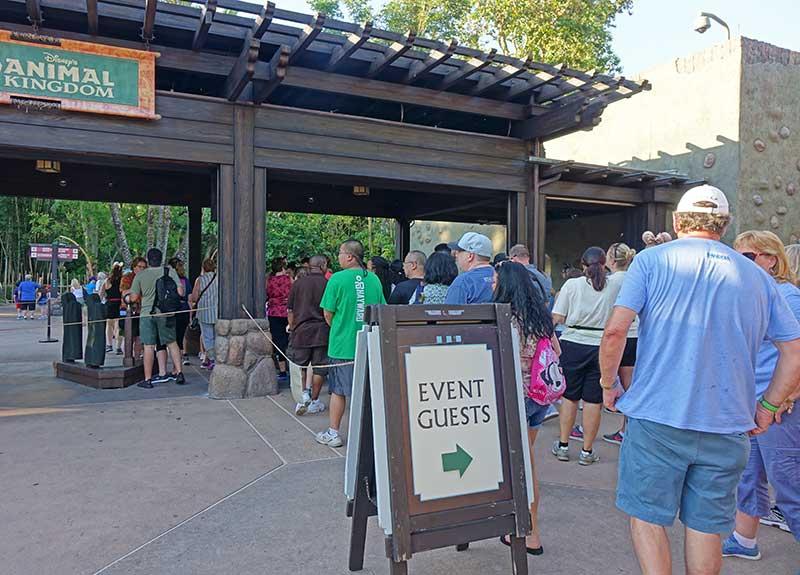 Disney After Hours - Park Entrance