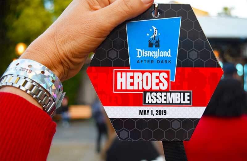 Disneyland After Dark - Credentials