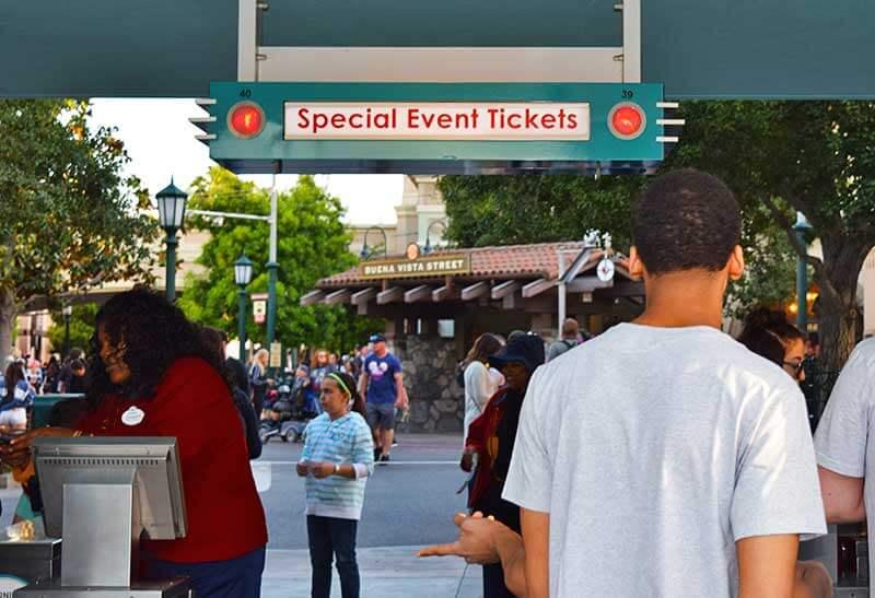 Disneyland After Dark - Entrance