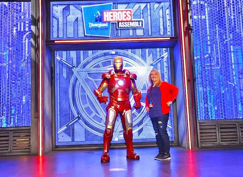 Disneyland After Dark - Iron Man