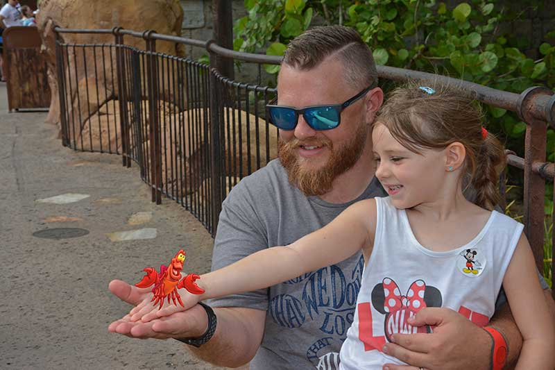 Father's Day at Disney World - Magic Shot