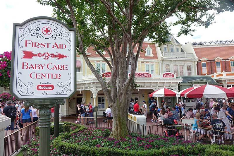 First Aid at Orlando Theme Parks