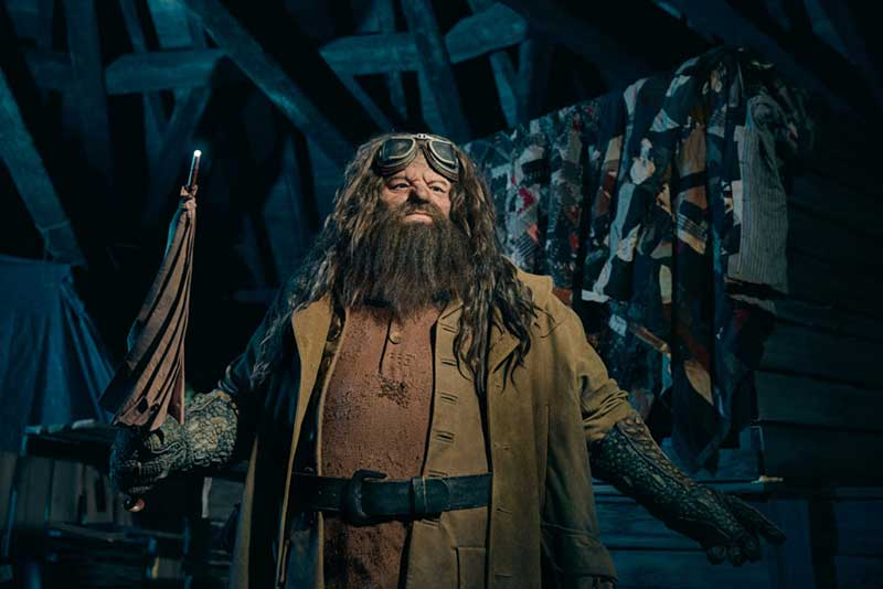 Look Who It Is! A Sneak Peek of Universal Orlando's Hagrid Animatronic
