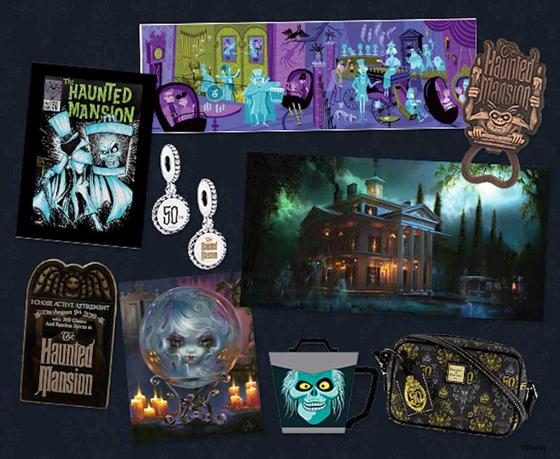 Disneyland's Haunted Mansion Celebrates 50 Years of Happy Haunts with a Spirited Celebration