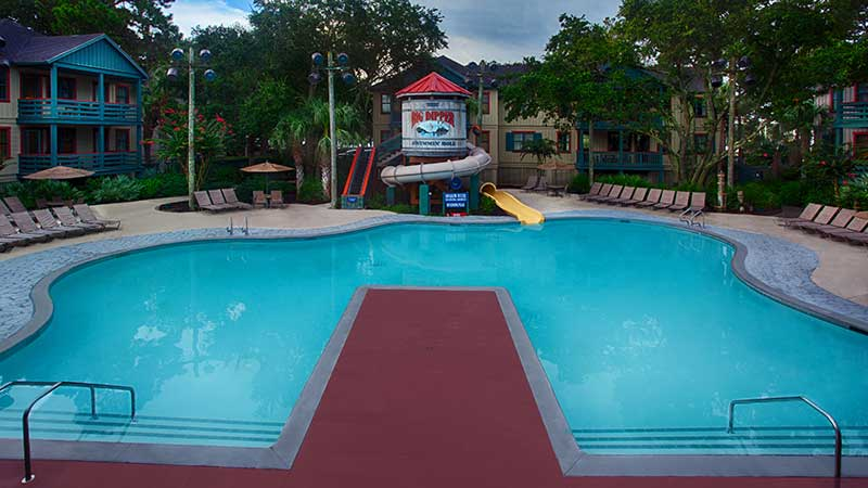 Tips for Visiting Hilton Head with Kids - Disney's Big Dipper Pool
