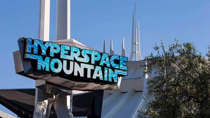 Hyperspace Mountain - Disneyland