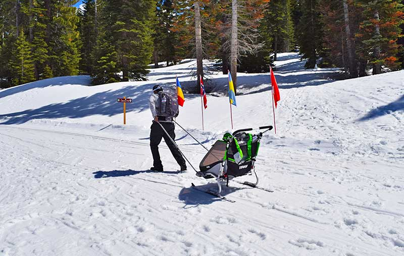 Winter Family Activities in South Lake Tahoe - Cross-Country Skiing