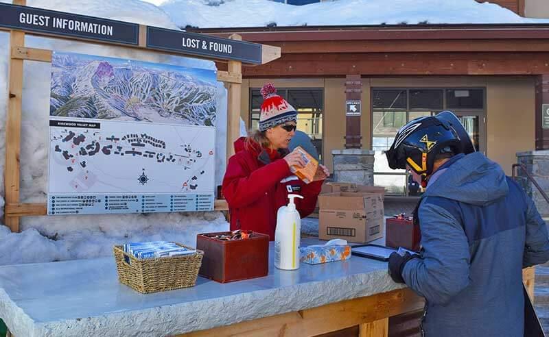 Guide to Kirkwood Ski Resort - Guest Information Booth