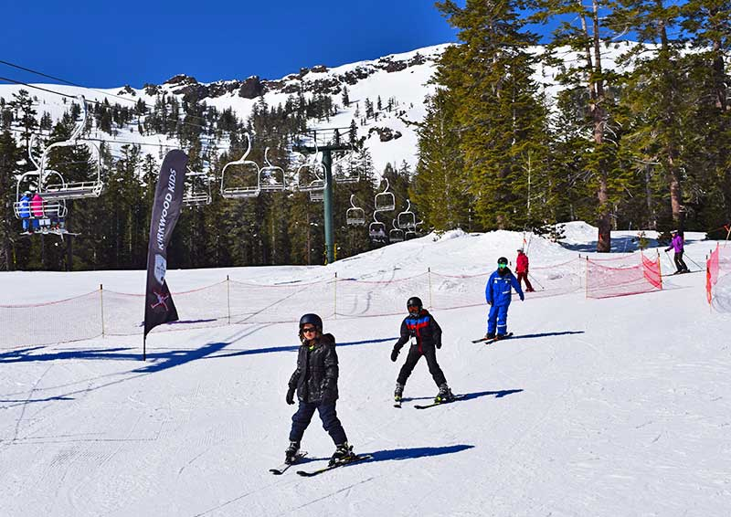Winter Family Activities in South Lake Tahoe - Skiing