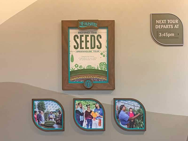 Mother's Day at Disney World - Behind the Seeds Tour