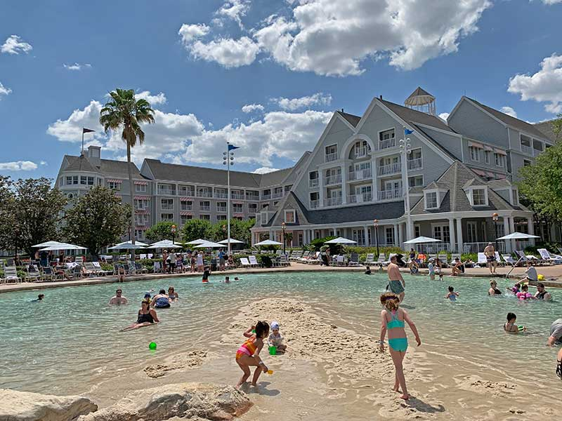 Top Orlando Water Park Hotels - Disney's Yacht and Beach Club