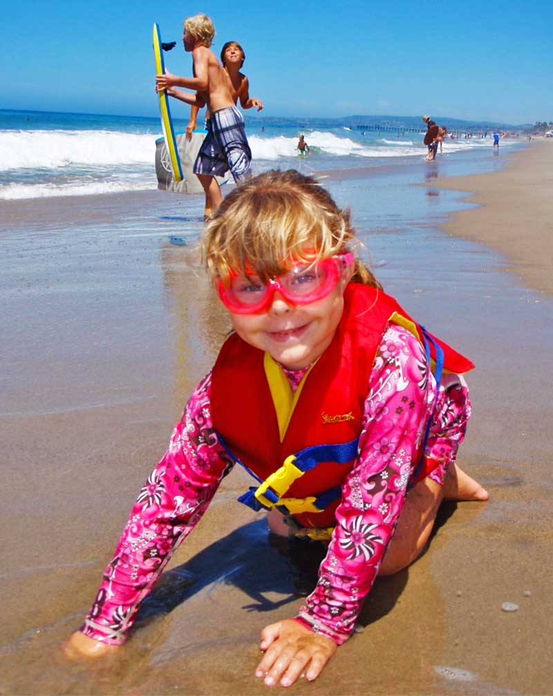 Packing for a Beach Vacation with Kids - Beach Play