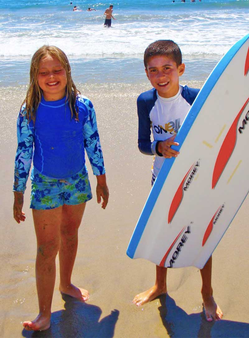 Packing for a Beach Vacation with Kids - Bodyboard