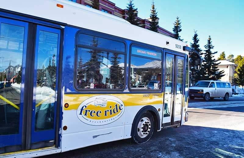 Ways to Save on a Colorado Ski Trip - Free Transportation