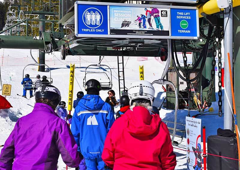 Where to Splurge and Where to Save on a First-Time Ski Trip-bunny hill lift