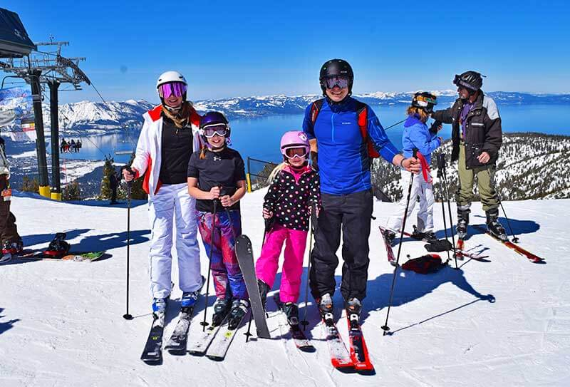 Winter Family Activities in South Lake Tahoe