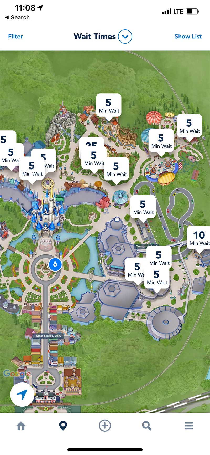 Disney After Hours Events - Magic Kingdom Wait Times