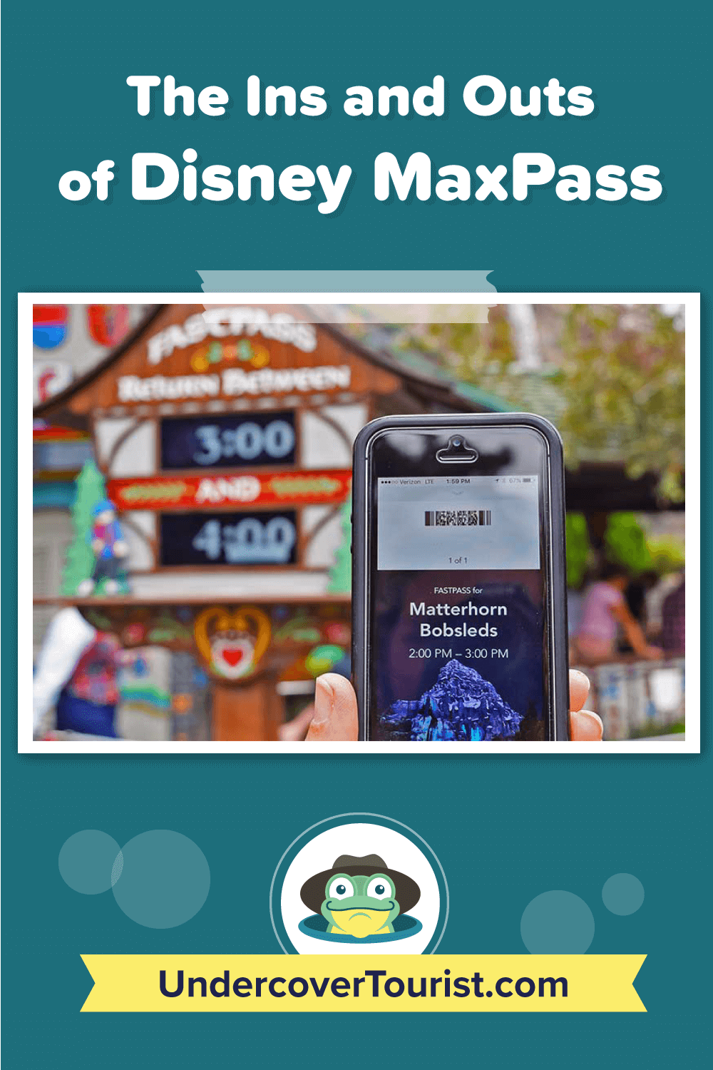 The Ins and Outs of Disney MaxPass - Pinterest