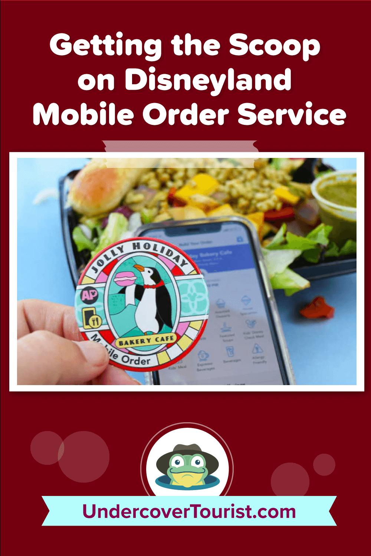 Getting the Scoop on Disneyland Mobile Order Service - Pinterest