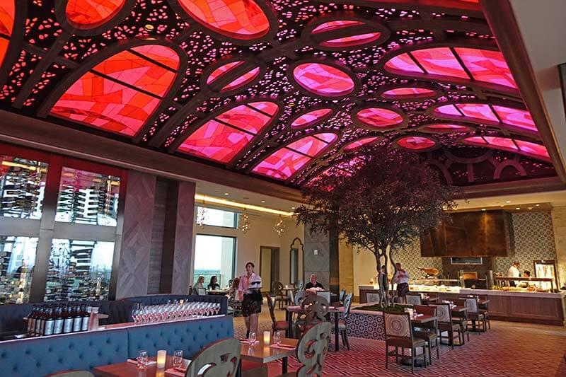 Disney Dining Reservations - Toldeo at Disney's Coronado Springs Gran Destino Tower
