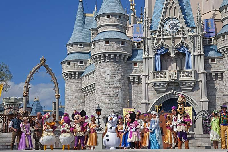 Best Theme Parks in Orlando - Mickey's Royal Friendship Faire