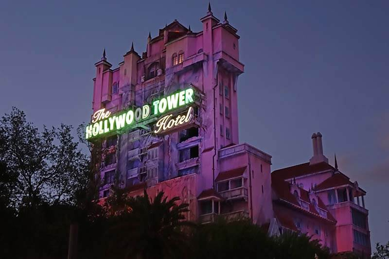 Best Orlando Theme Parks by Age Group - Tower of Terror