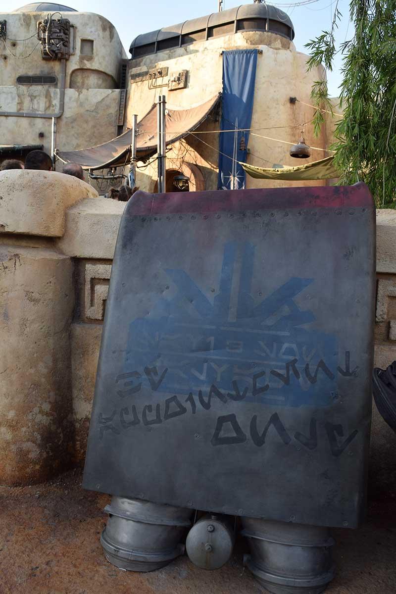 Savi's Workshop - Entrance Sign